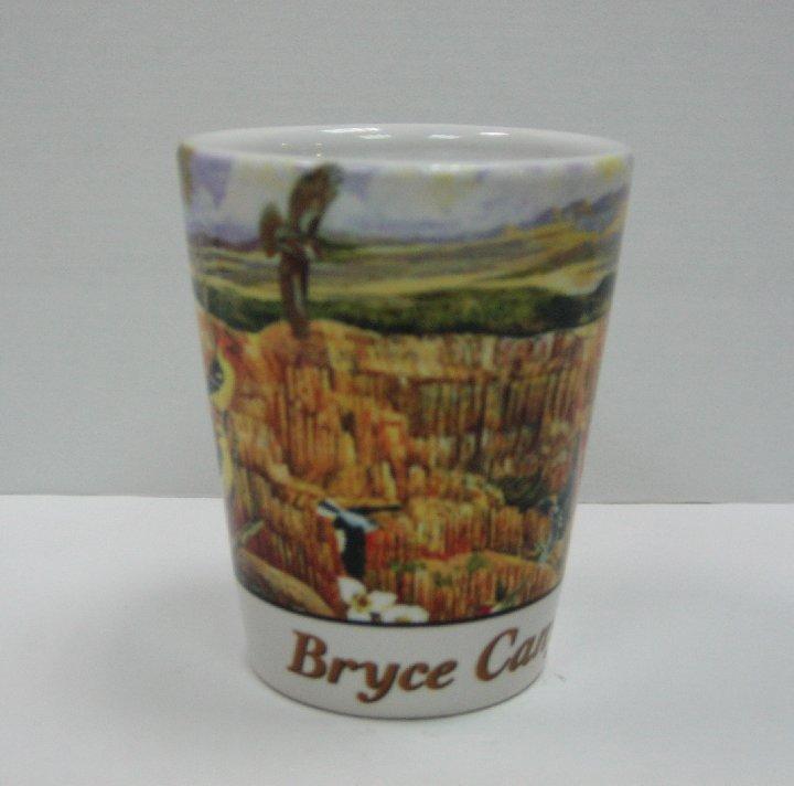כוס שוט פורצלן (זוג)