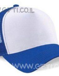 כובע מצחיה היפ-הופ כחול
