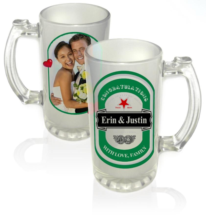 ספל בירה זכוכית