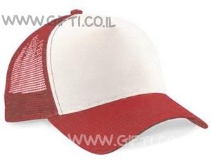 כובע מצחיה היפ-הופ אדום