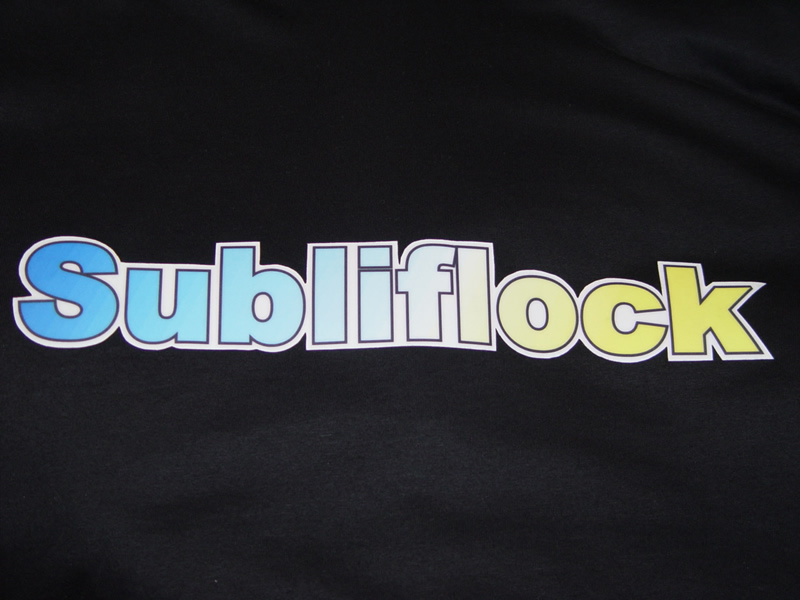 Sublimation Flock in Roll 0.5 x 10 m