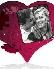 01 smileyland wooden-heart shape- big puzzle-18 pcs