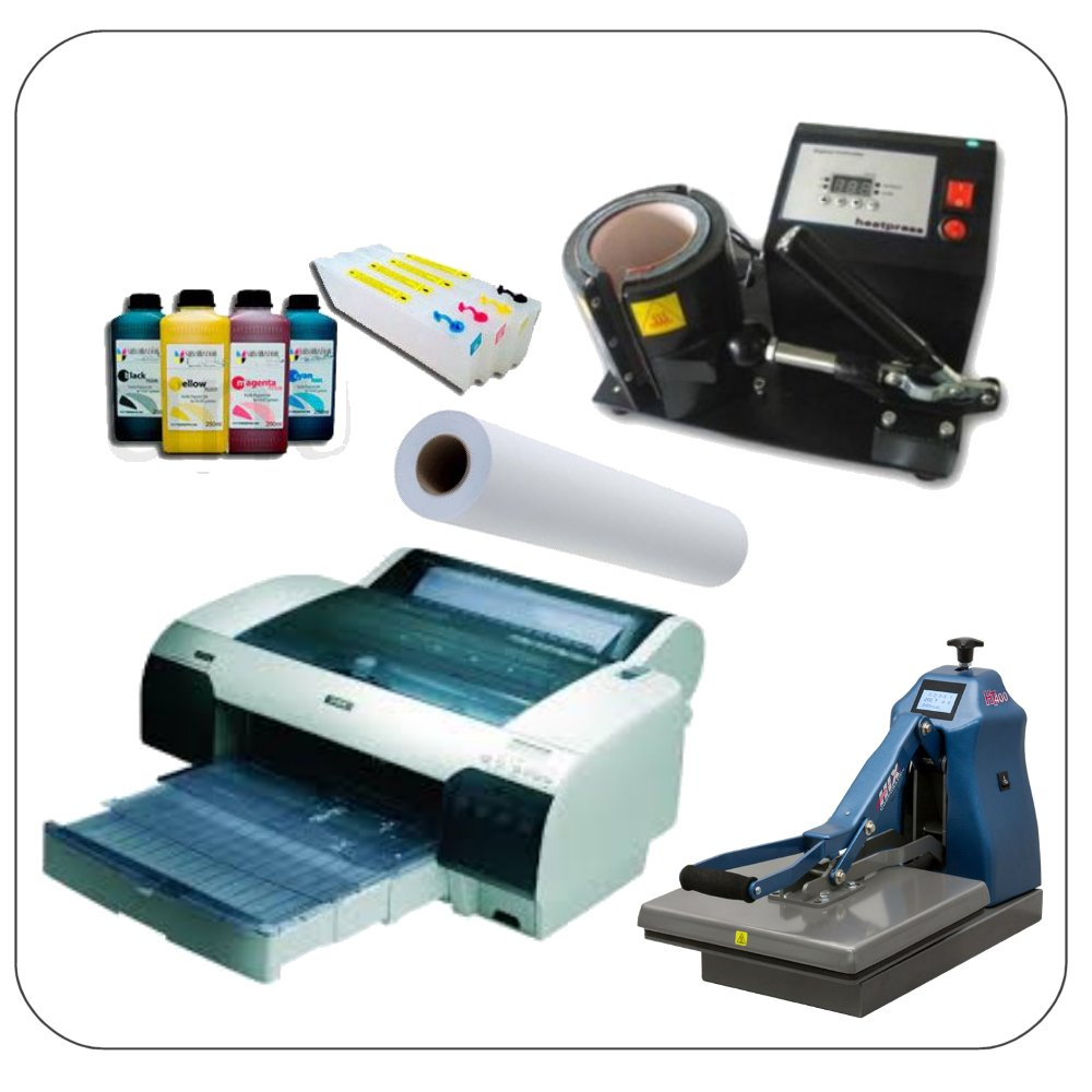 סובלימציה מדפסות מערכות מוצרים וחומרים