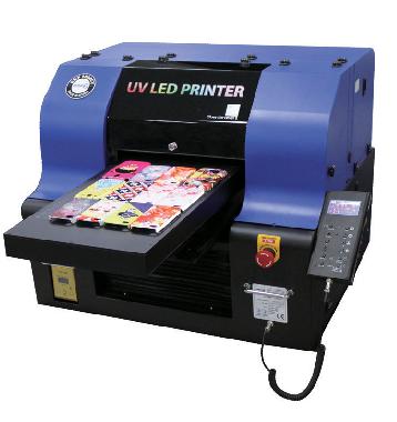 מדפסת UV להדפסה ישירה קטנה להדפסה ישירה על כל חומר, בלוקים מעץ, זכוכית ועוד